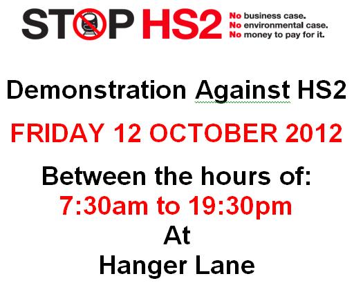 HS2 demonstration